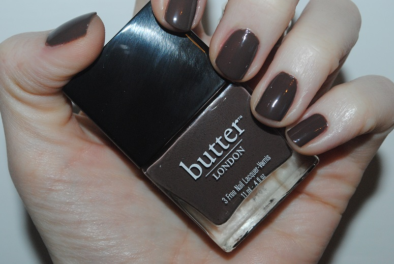 Butter LONDON Teetotal Nail Polish Review & Swatch: 12 Nails of Christmas Day 8 - Really Ree