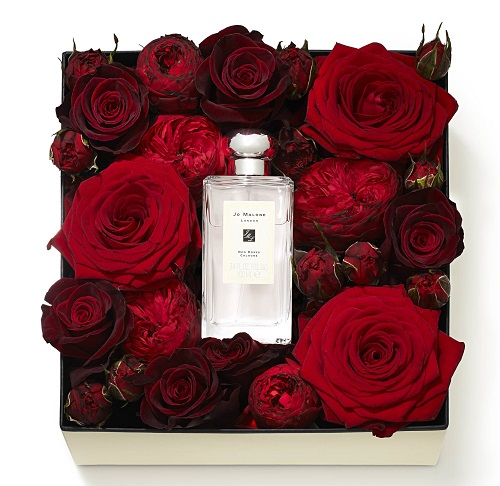 jo malone red roses harrods floral box for valentine 39 s day. Black Bedroom Furniture Sets. Home Design Ideas