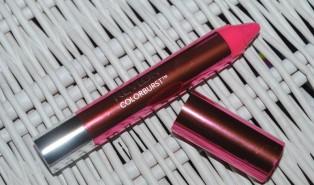 Revlon ColorBurst Lacquer Balm Crayon Review, Swatch: Coquette 110