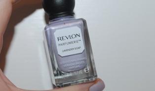 Revlon Parfumerie Lavender Soap Nail Polish Review, Swatch