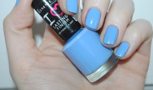 Rimmel I Love Lasting Finish Fancy A Dip Review, Swatch: 12 Nails of Christmas Day 10