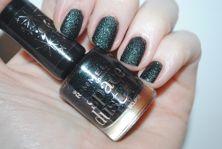 Rimmel Space Dust Total Eclipse Review, Swatch: 12 Nails of ...