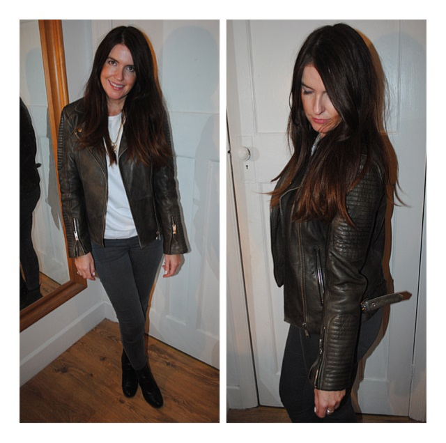 Whistles Sale Leather Jacket! - Really Ree