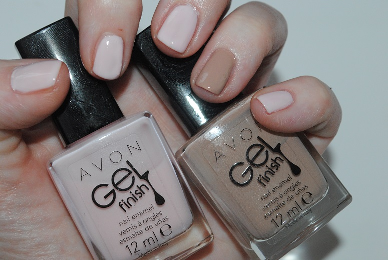 Avon Gel Finish Nail Polish Review Swatches Really Ree