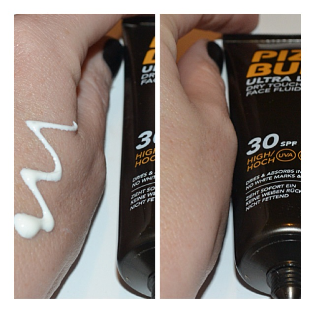 piz-buin-ultra-light-dry-touch-face-fluid-review-swatch