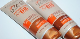 Rimmel Sunshimmer Instant Tan BB Perfector Review, Swatches