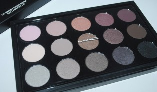 MAC Eyeshadow X 15 Cool Neutral Palette Review, Swatches, Eye Look.
