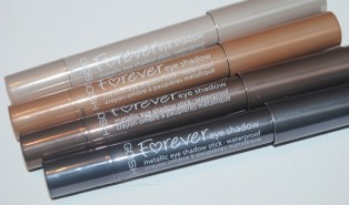 GOSH Forever Eyeshadow Stick Review, Swatches
