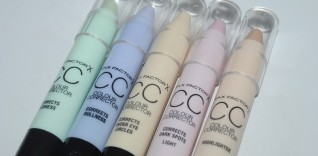 Max Factor Colour Corrector CC Sticks Swatches & How To Use Them