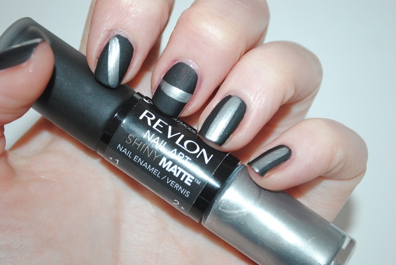 Revlon nail art shiny matte review swatches really ree revlon nail art shiny matte 500 leather swatch prinsesfo Image collections
