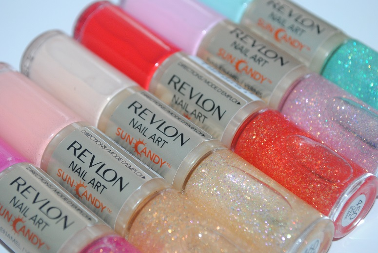 Revlon Nail Art Sun Candy Review & Swatches