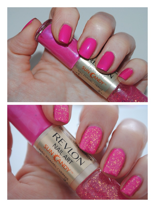 Revlon nail art sun candy review swatches really ree revlon nail art sun candy shimmering sunset swatch prinsesfo Images