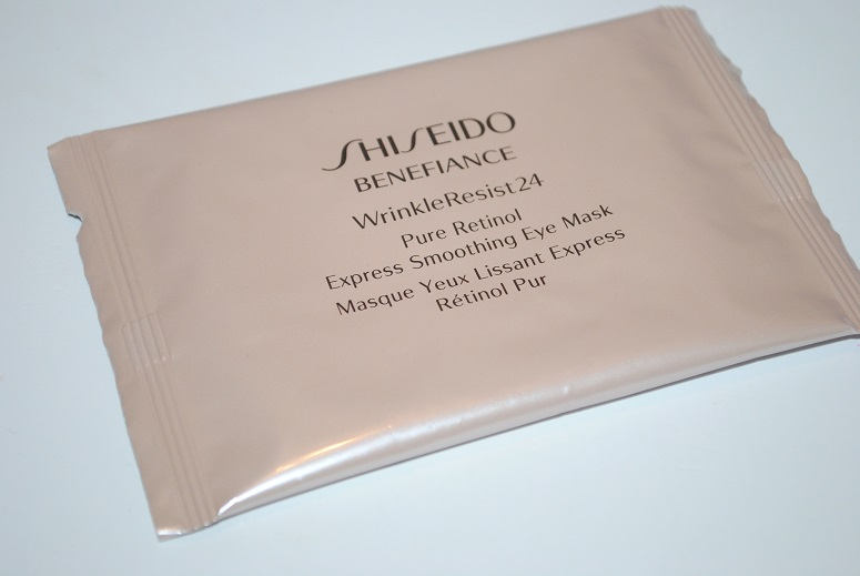 shiseido-benefiance-wrinkle-resist-24-pure-retinol-eye-masks-review