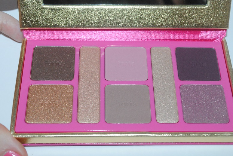 tarte-sultry-sunset-amazonian-clay eyeshadow-collector-palette-review