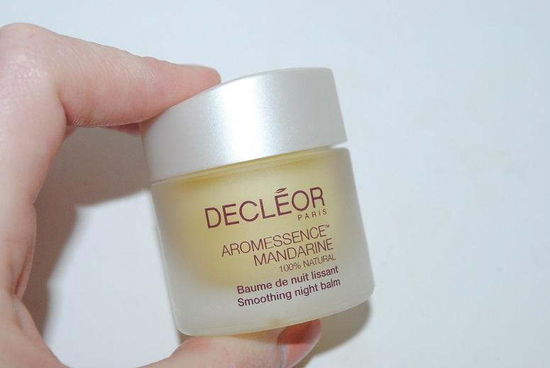 Decleor-Aromessence-Mandarine-Smoothing-Night-Balm-review