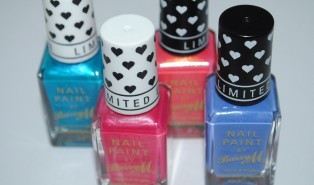 Barry M Summer 2014 Limited Edition Nail Collection Review, Swatches