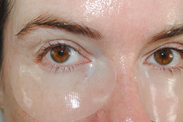 elemis pro collagen eye mask instructions