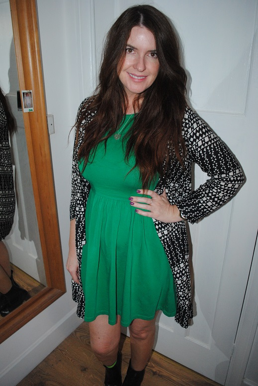outfit-of-the-day-green-dress