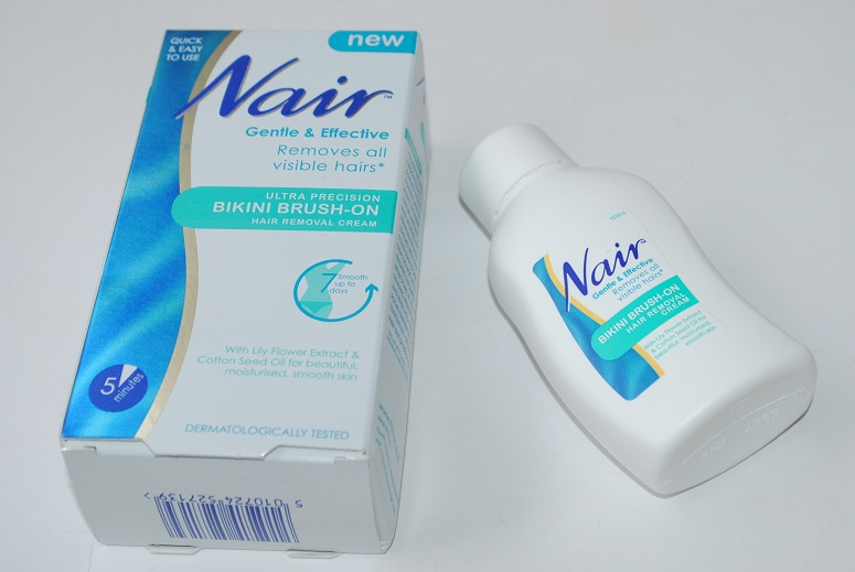 Nair-Bikini-Brush-On-Hair-Removal-Cream-Review