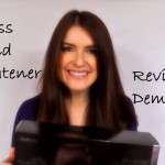 BaByliss Diamond Straightener Review / Demo Video