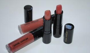 Daniel Sandler Toffee Caramel Nude Lip Collection Swatches