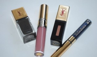 YSL Fall 2014 Makeup Swatches – Black Fetish