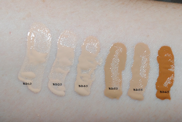 ysl fusion foundation swatches all shades really ree. Black Bedroom Furniture Sets. Home Design Ideas