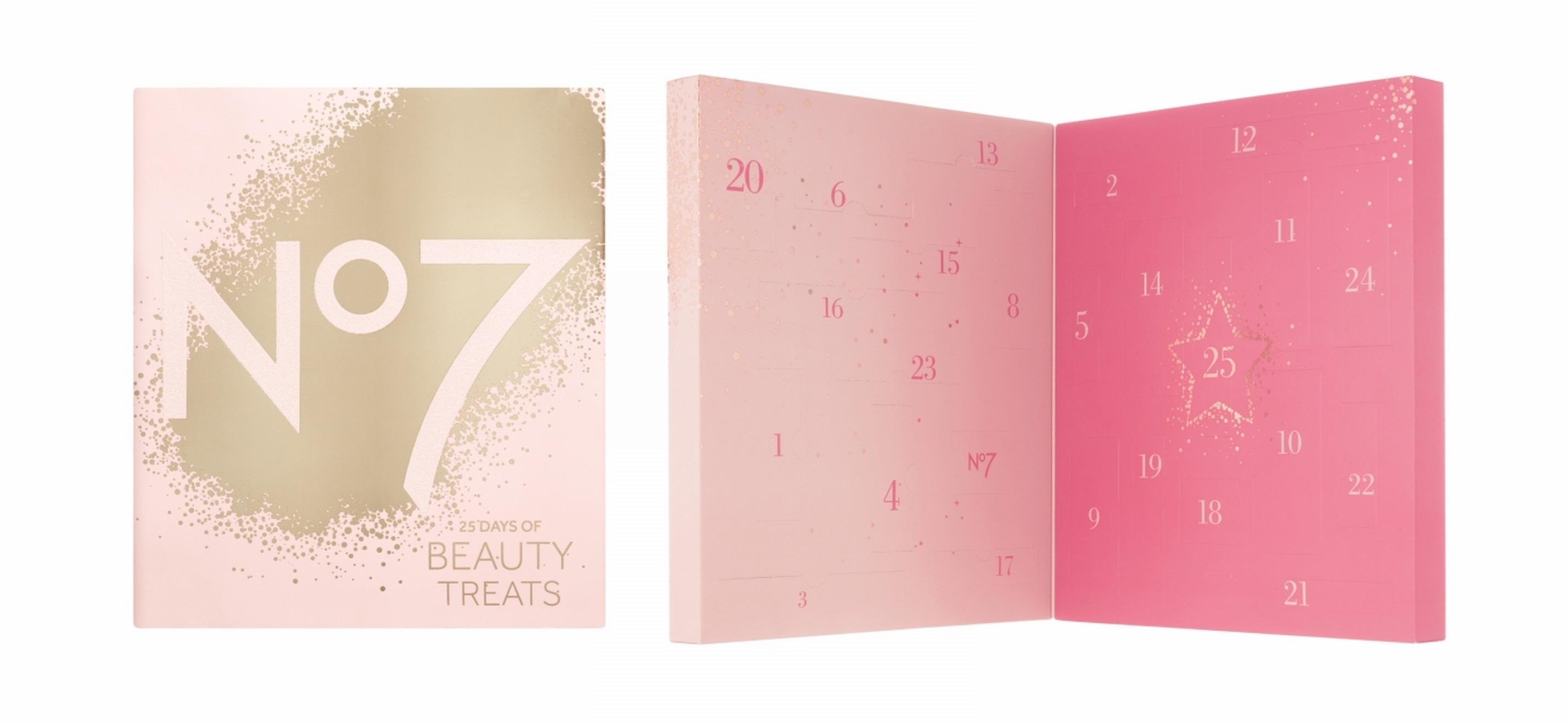 Boots No7 Beauty Calendar 2017 Review