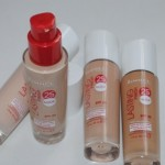 Rimmel Lasting Finish Nude Foundation Review, Swatches
