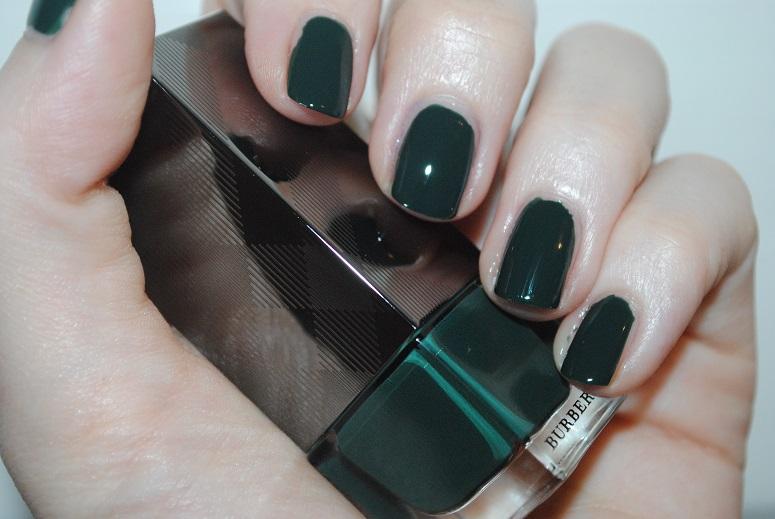 Burberry Nail Polish Dark
