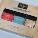 Butter London Brilliant Bronze Lacquer Set Swatches