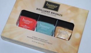 Butter London Brilliant Bronze Lacquer Set Swatches