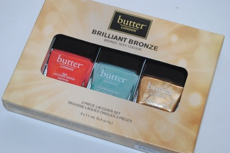 Butter London Brilliant Bronze Lacquer Set Swatches - Really Ree