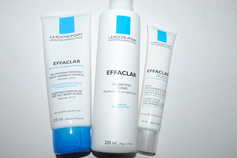 la roche posay effaclar 3 step anti blemish system a man. Black Bedroom Furniture Sets. Home Design Ideas