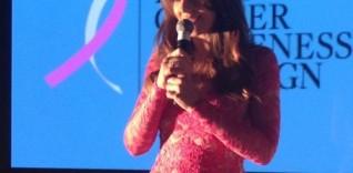 Estee Lauder Breast Cancer Awareness 2014 & Elizabeth Hurley