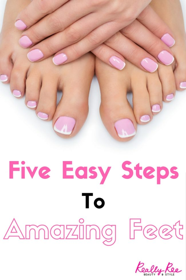 "If you've ever been thrown into panic by the words ""Would you mind leaving your shoes by the door?"" then you need to know How To Get Amazing Feet Fast!"