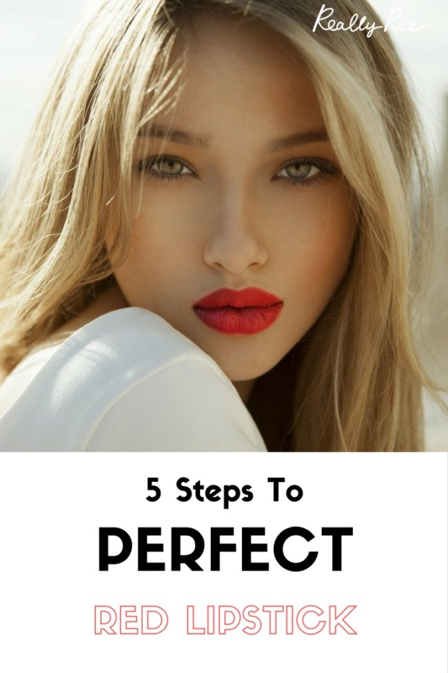 Ever struggled to get red lips just right? Can't quite get the right colour or match to your existing makeup? Read our 5 Steps To Perfect Red Lipstick.