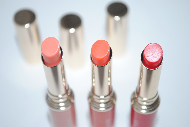 Clarins Instant Light Lip Balm Perfector Review Swatches