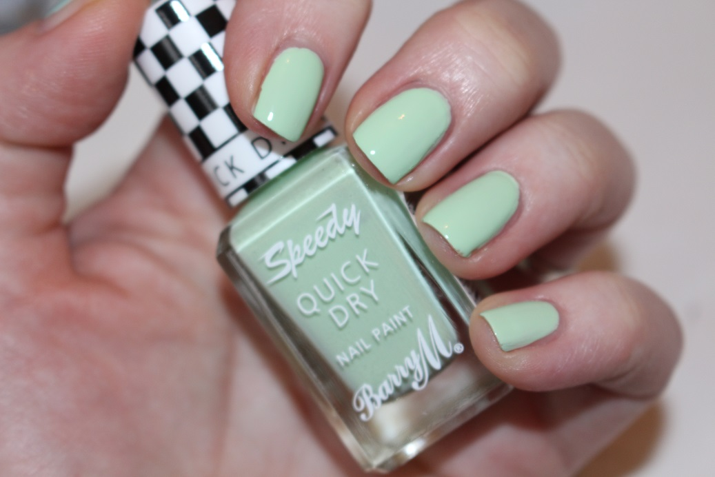 Barry M Speedy Quick Dry Nail Paint Review & Swacthes - Really Ree