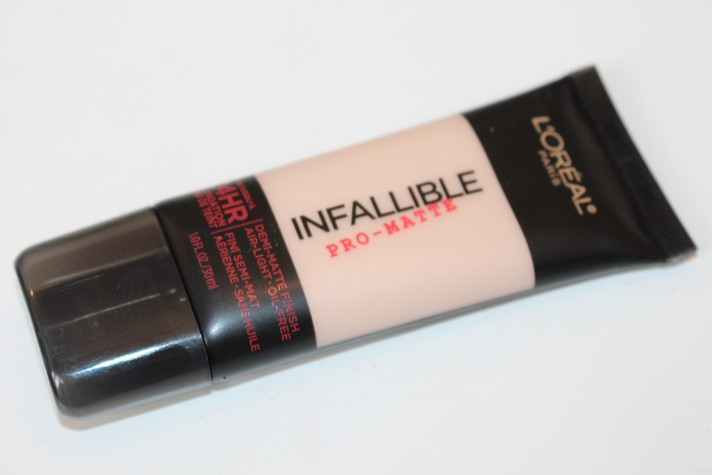 L'Oreal Infallible Pro Matte Foundation Review