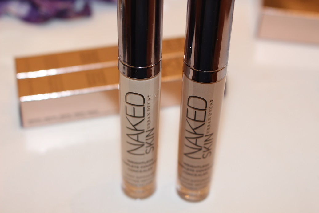 Urban Decay Naked Skin Concealer   Review - YouTube