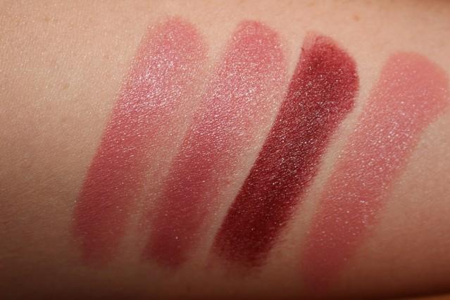 Свотчи новых помад Клиник - Clinique Pop Lip Colour and Primer Lipstick