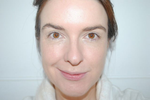 eve-lom-radiant-glow-cream-foundation-review-after