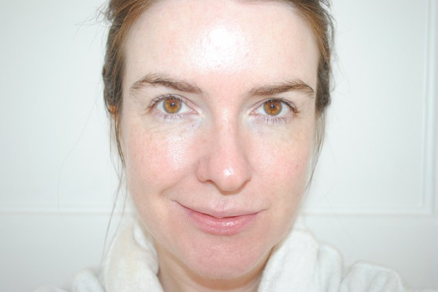 eve-lom-radiant-glow-cream-foundation-review-before