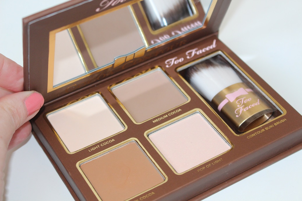Too Faced Cocoa Contour Kit Review Swatches Amp Photos