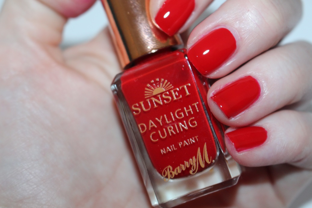 Barry M Sunset Nail Paint & Topcoat Review & Swatches - Really Ree