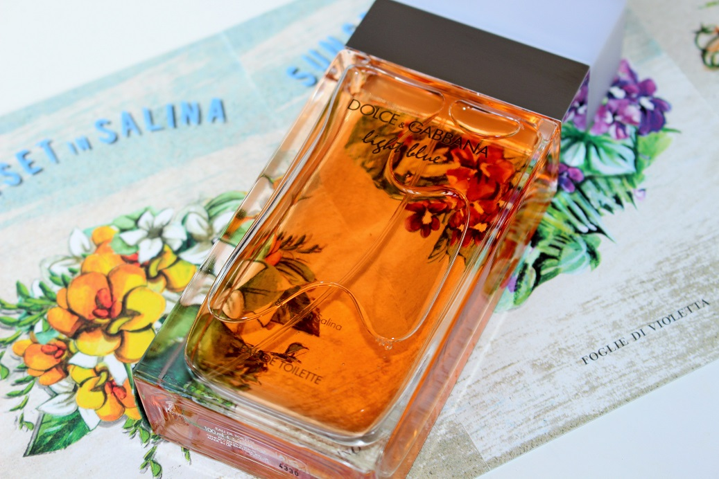 Dolce And Gabbana Light Blue Sunset In Salina Review