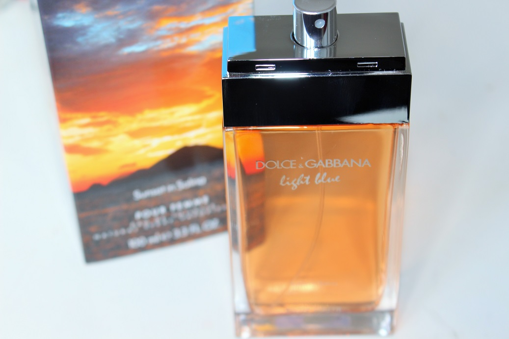 Dolce And Gabbana Light Blue Sunset In Salina Review Great Ideas