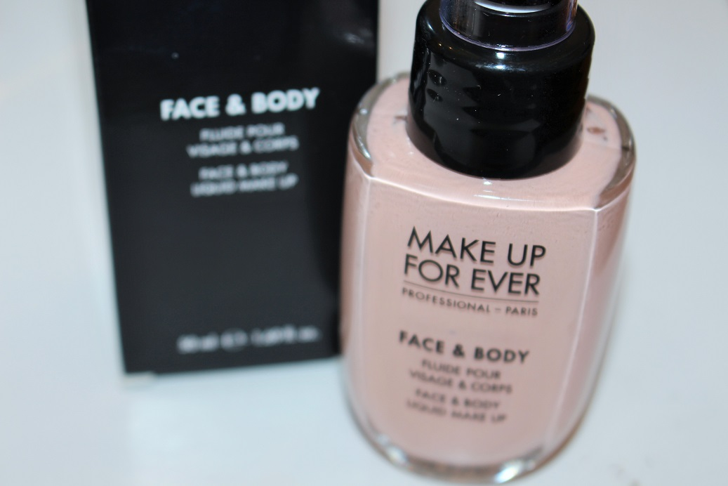 Makeup Forever Face U0026 Body Foundation Review - Really Ree
