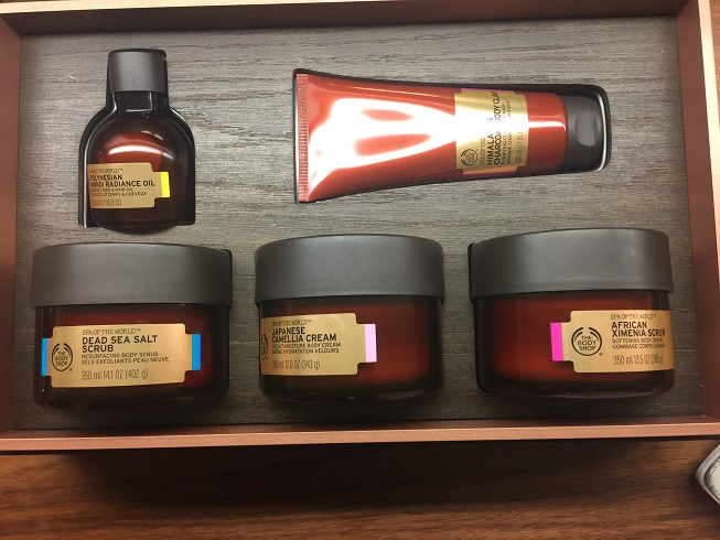 The Body Shop Oils Of Life Amp Spa Of The World Really Ree